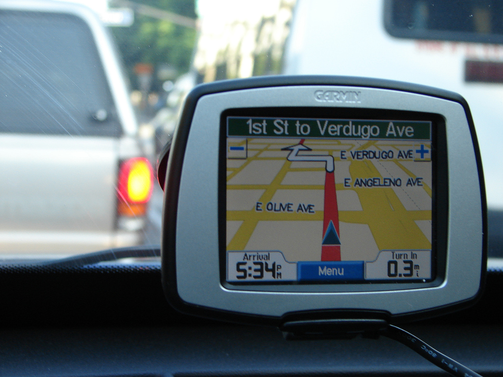 Варианты спутникового навигатора для автомобиля